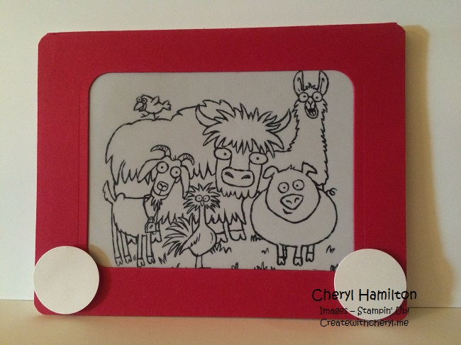 Etch a Sketch From the Herd