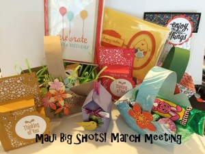 Maui Big Shots! March Meeting