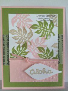 Create With Cheryl Aloha