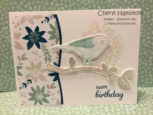 Birds & Blooms Createwithcheryl.me