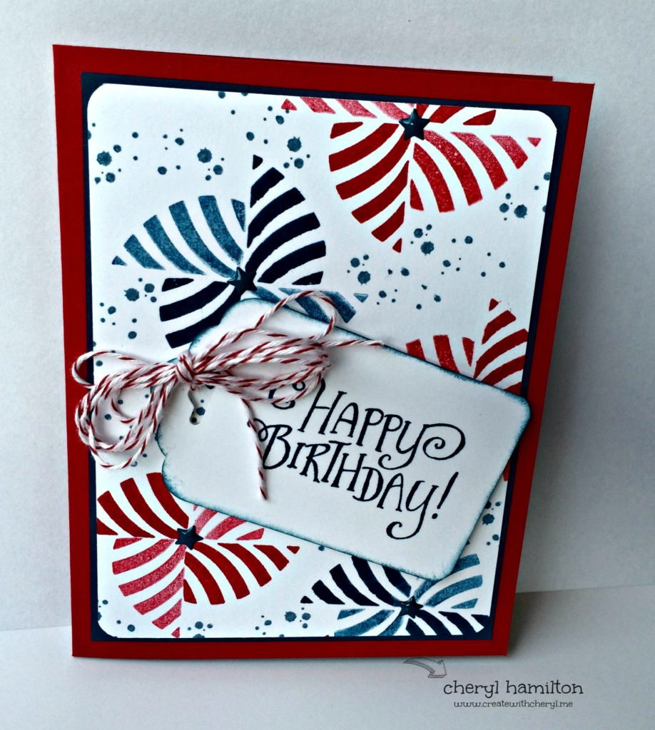 Create With Cheryl SSINK Color Challenge July