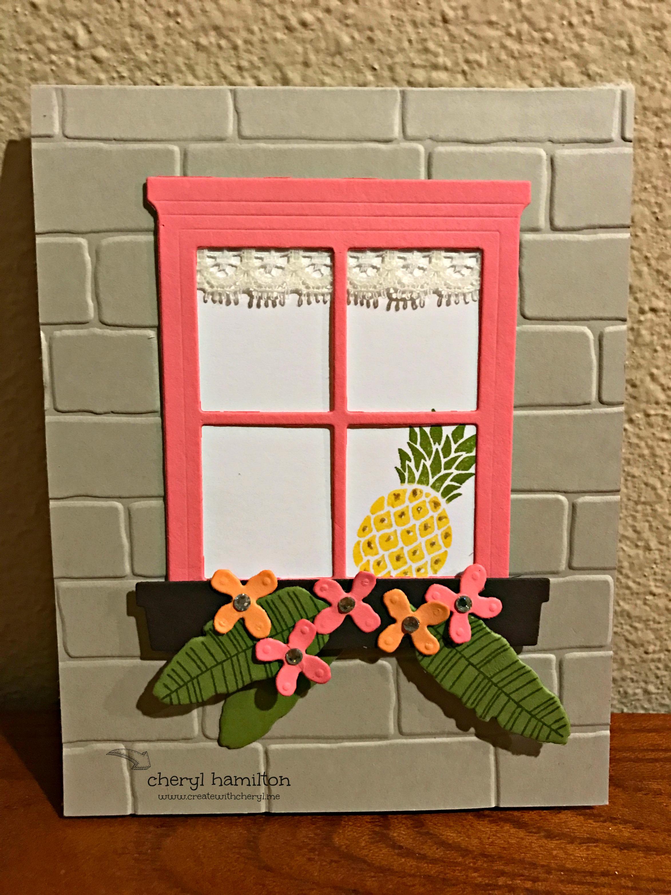 #SSINKCC40 Pineapple in the Window