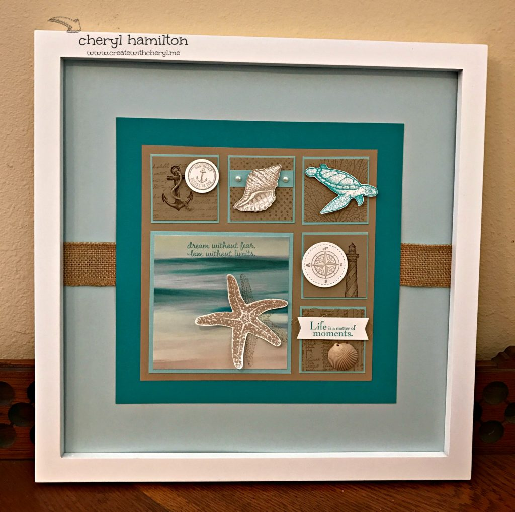 Home Decor Project Seascape Framed Art Create with