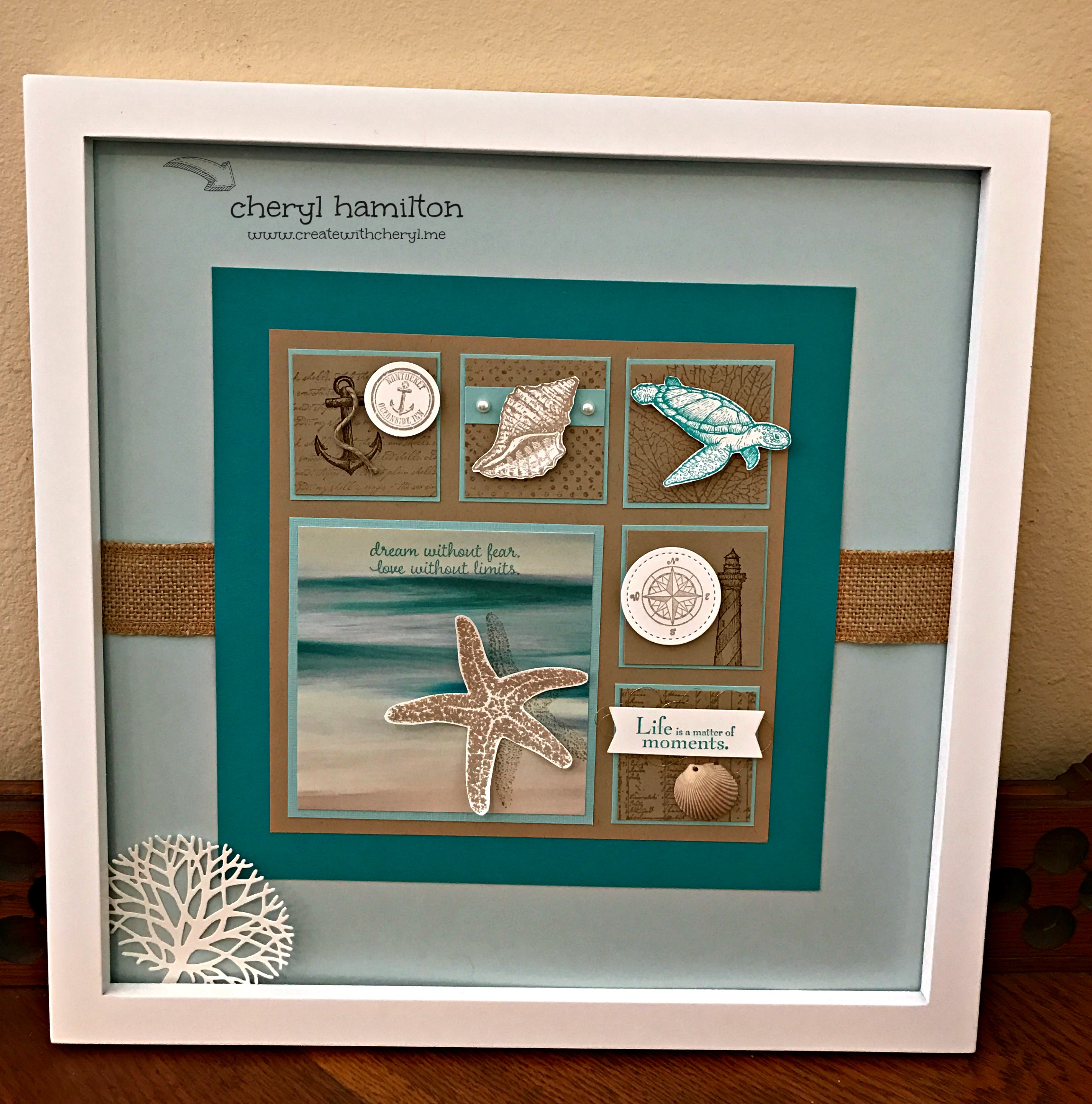 Home Decor Project- Seascape Framed Art