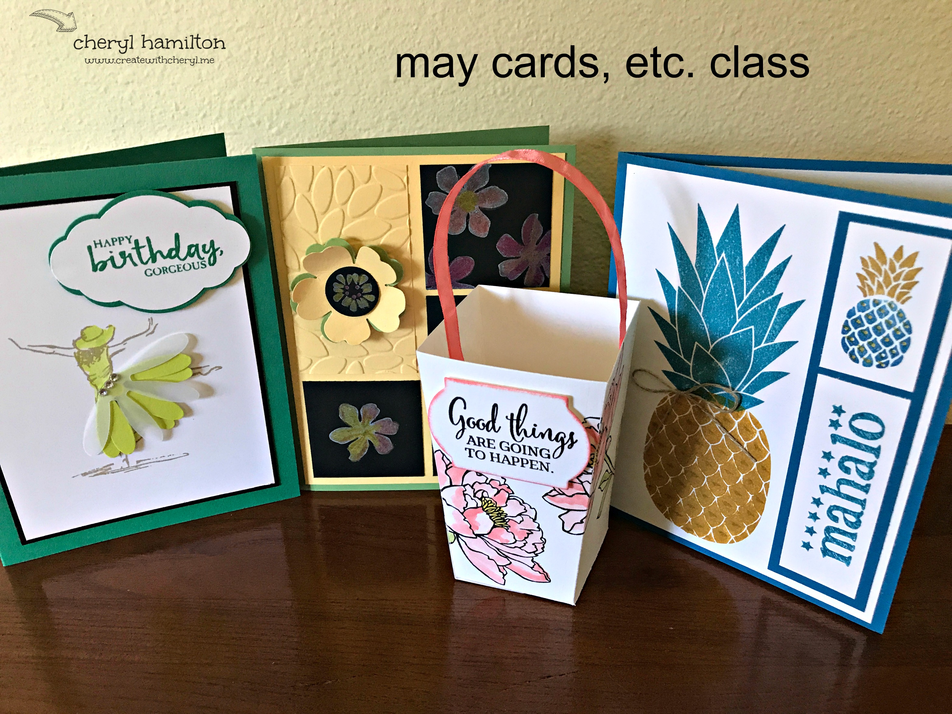 May Cards, Etc. Class