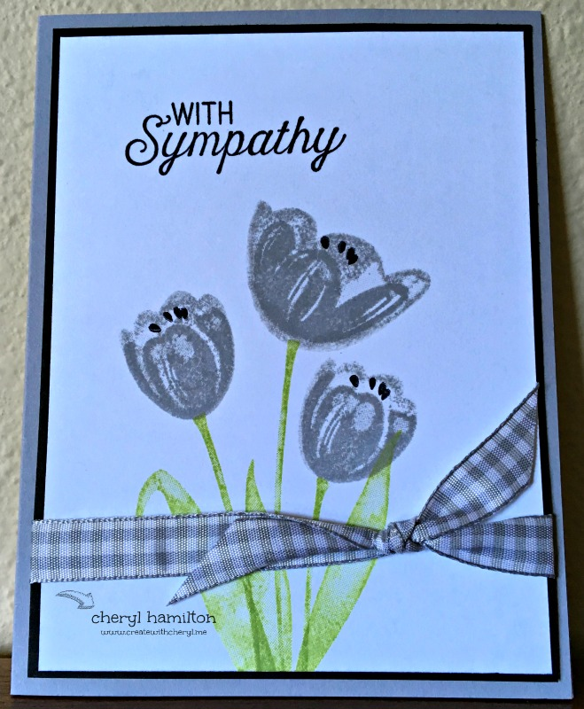 SSINK Tranquil Tulips Host Set