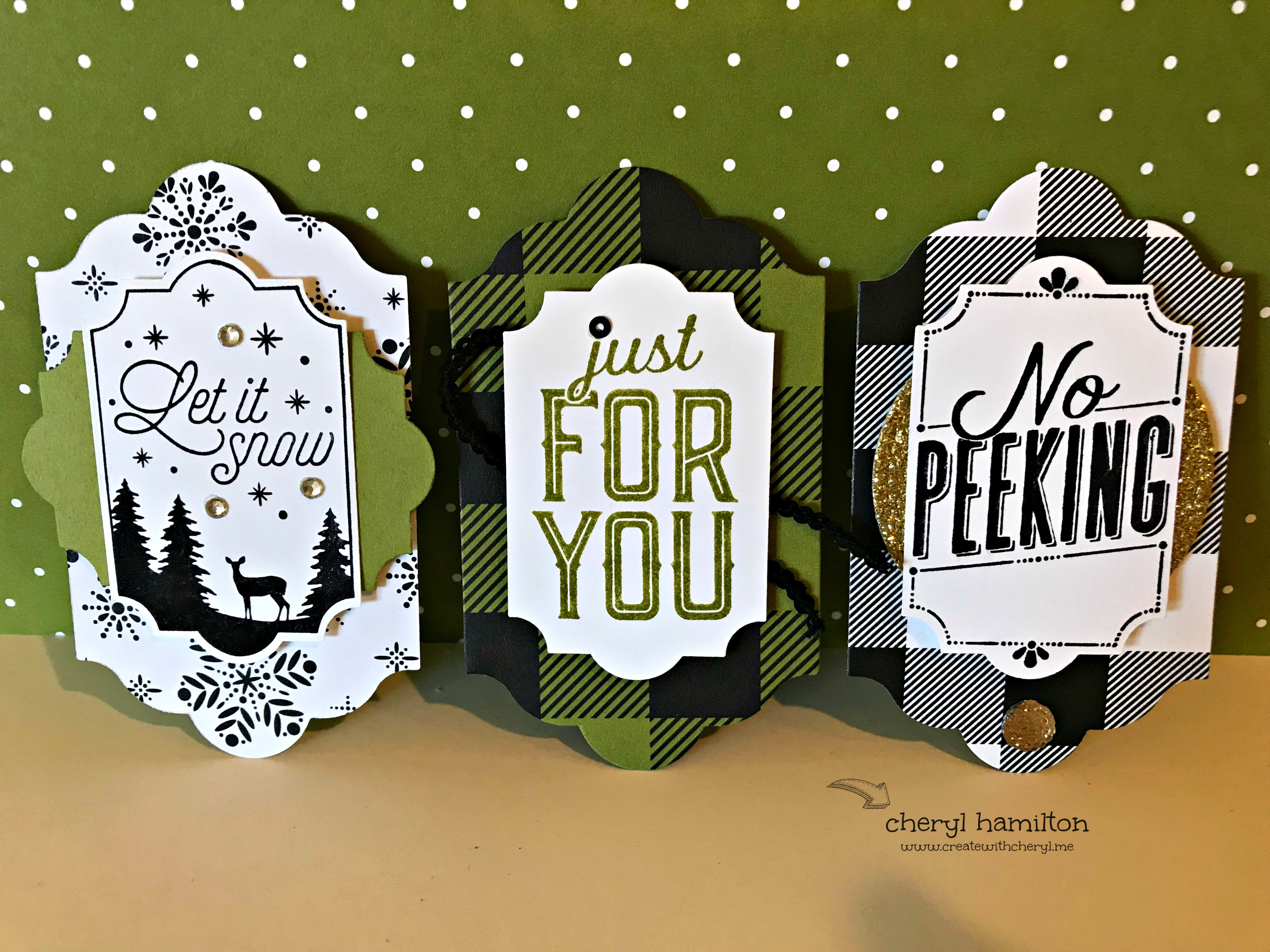 SSINK Clean & Simple Christmas Using Merry Little Labels
