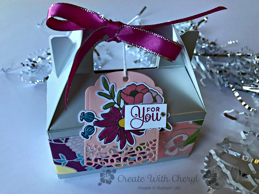 Cake Soiree Gable Box for Alaska Achiever's Blog Hop