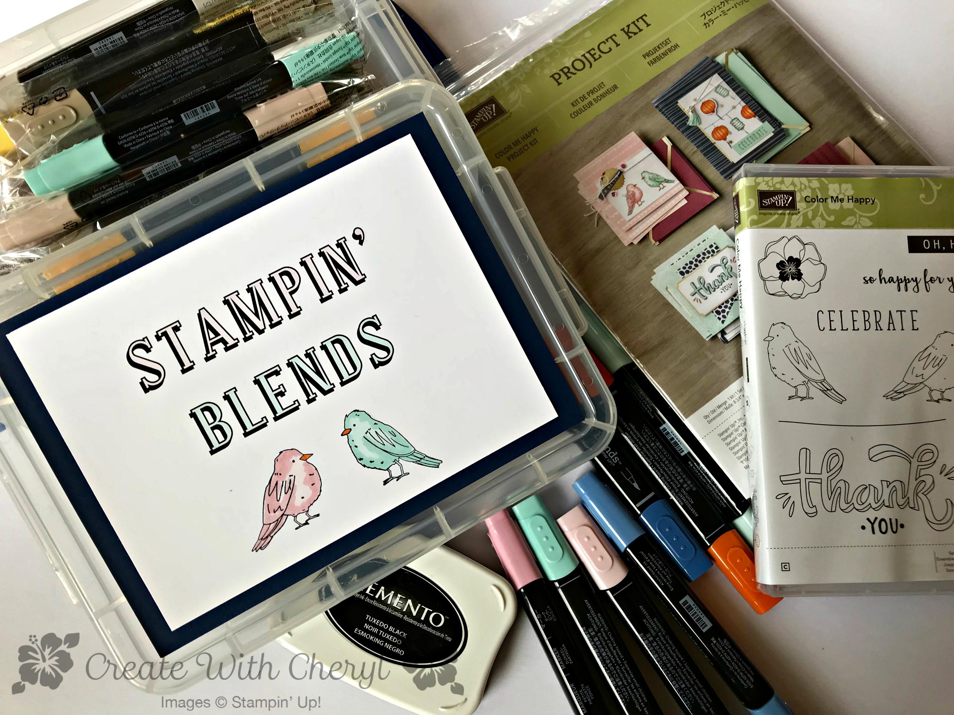 Stampin' Blends Club