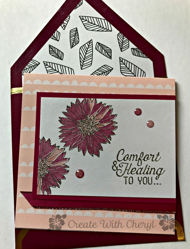 Touches of Texture Get Well Cards