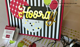 Paper Pumpkin Blog Hop Broadway Bound
