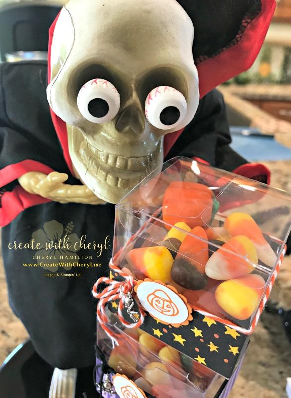 Halloween Bunco!  #bunco #createwithcheryl #stampinup