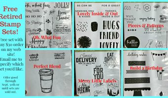 Get your FREE Retired Stamp Set- limited time offer!