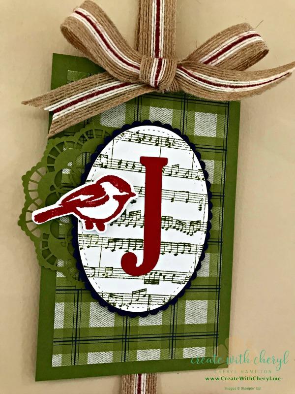 Joy Wall Hanging #createwithcheryl #christmashomedecor #banners #cherylhamilton #diychristmas