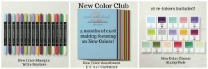 New Color Club #createwithcheryl #cherylhamilton #stampinup