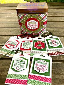 #createwithcheryl, #stampinup, #christmastags