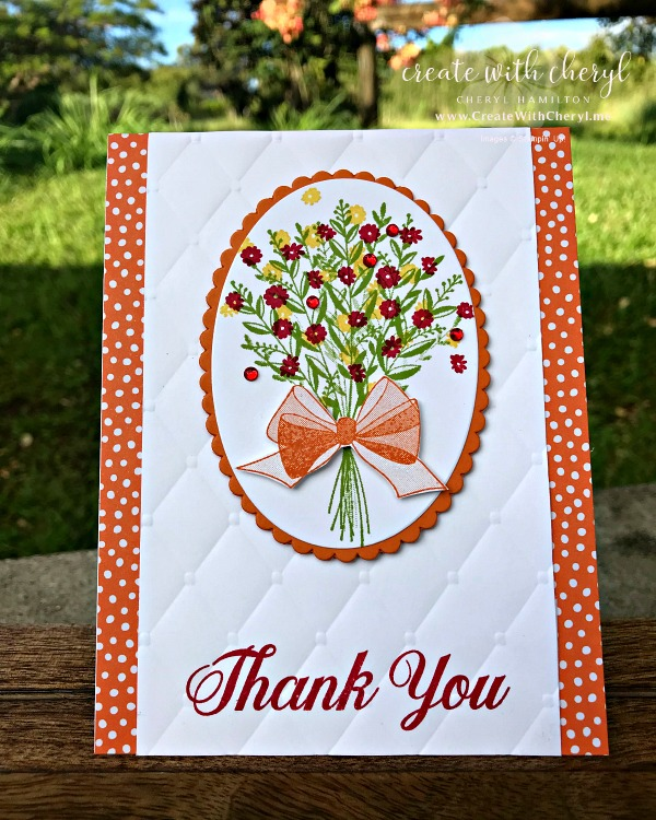 Wishing You Well #createwithcheryl #cherylhamilton #stampinup #handmadecards
