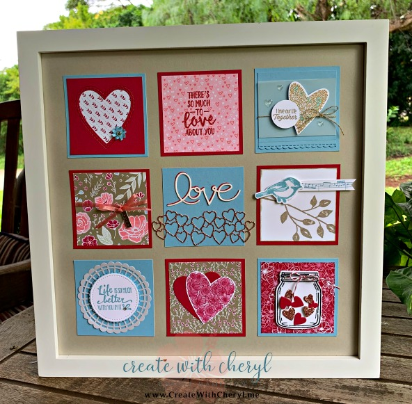 #createwithcheryl #stampinup #cherylhamilton #valentine #papercrafts