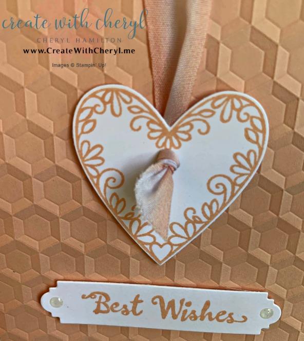 #createwithcheryl #cherylhamilton #stampinup #weddingcard #handmadecard #valentinecard