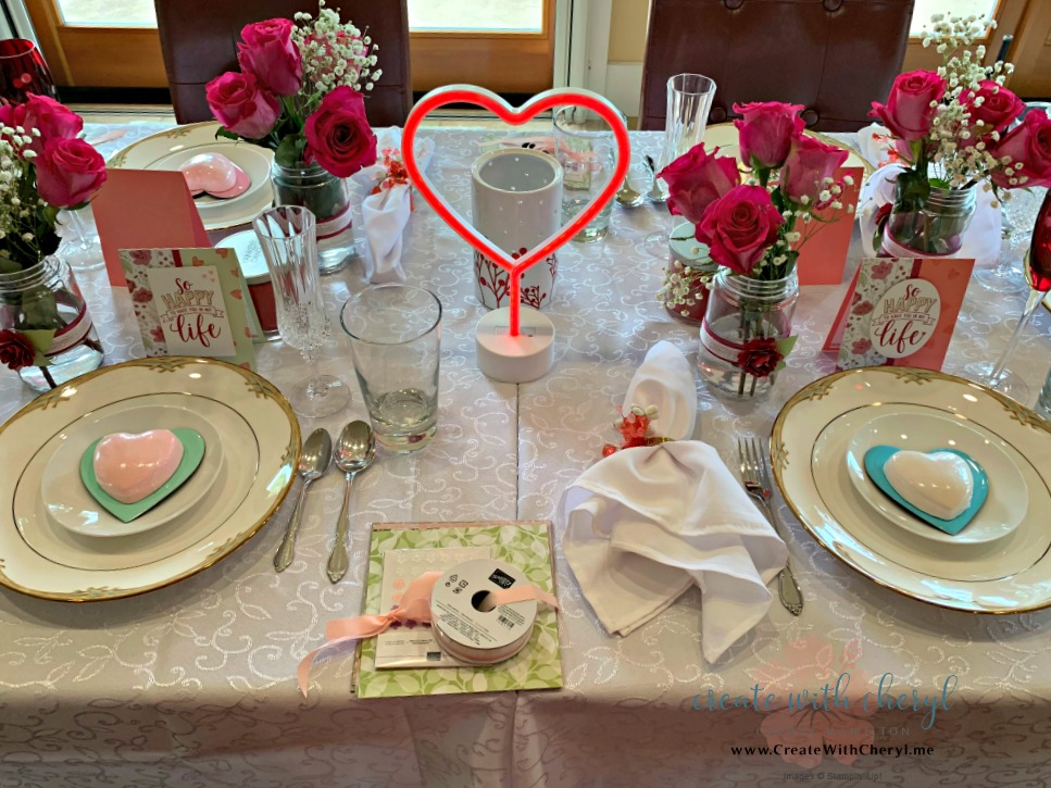 Recognition Luncheon #createwithcheryl #mauibigshots #stampinup #valentinesday
