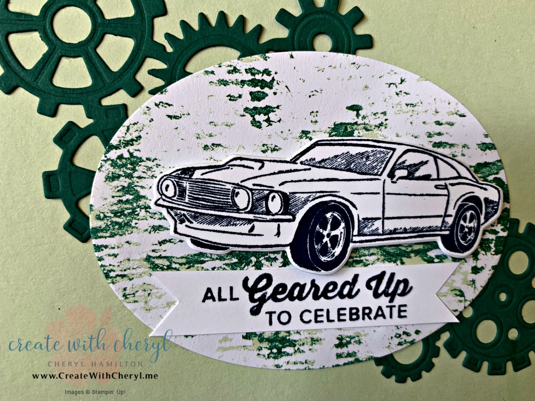 Geared Up Garage #createwithcheryl #diycards #masculinecards #fathersdaycards