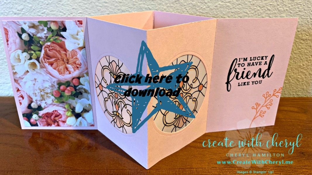 Vellum Luminary Card Tutorial #createwithcheryl #funfolds