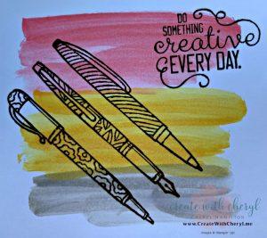 June 2019 Calendar #createwithcheryl #stampinup #diy #craftingforever