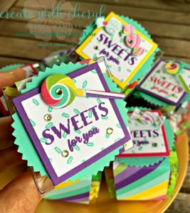 #createwithcheryl #treats #partyfavors #stampinup #sweetestthing