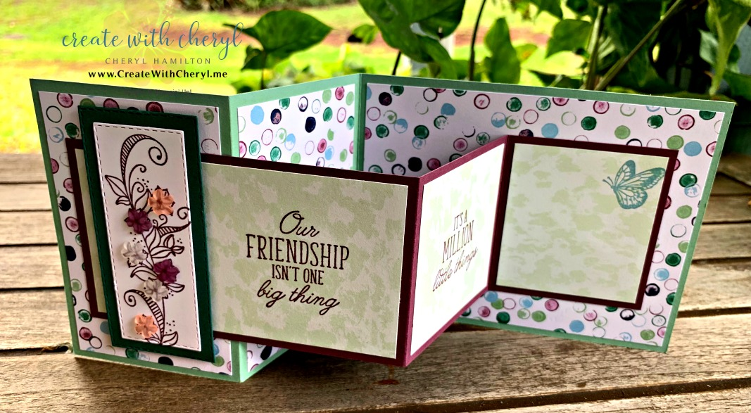 #zfoldcard #createwithcheryl #funfolds #beautyabounds #diycards #funfoldcards
