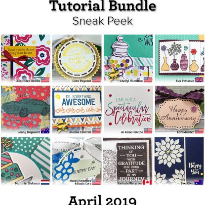 Stamping Around the World April 2019