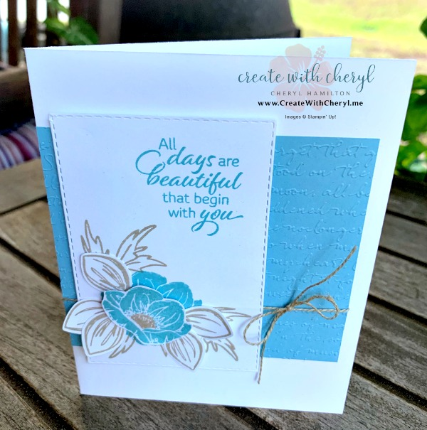 Card Layouts #CreateWithCheryl #stampinup #floralessence