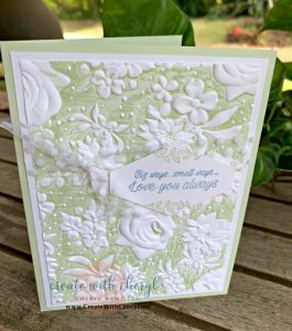 #createwithcheryl #icsbloghop #punches #countryfloral #handmadecards #accentedblooms