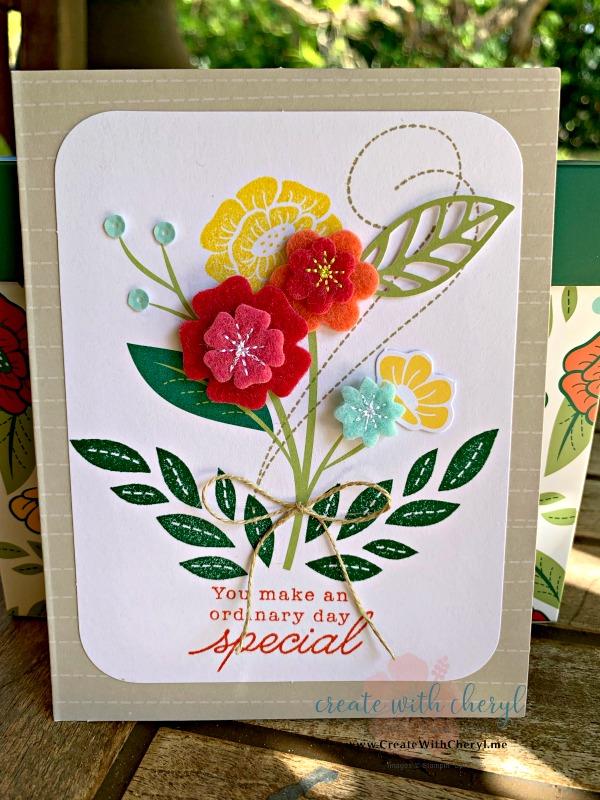 #createwithcheryl #fortheloveoffelt #handmadecards