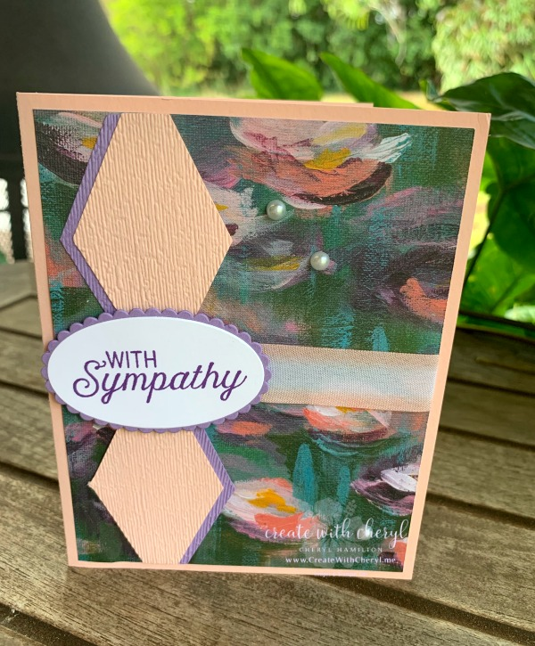 #createwithcheryl #perennialessence #sympathycards #stampinup #diycards