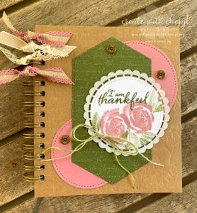 Thankful Journal #createwithcheryl #thankfuljournal #thankful
