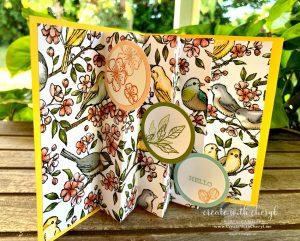 #cherylhamilton #createwithcheryl #funfoldcards #birdballad