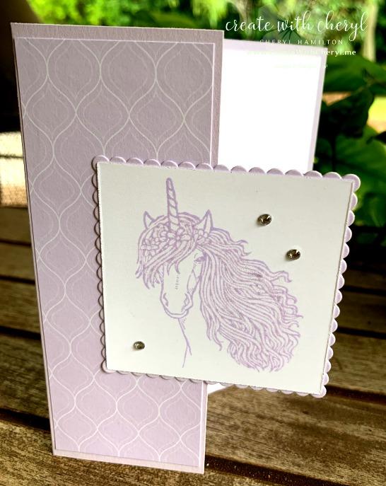 #createwithcheryl #diycards #madeonmaui #cherylhamiltohn #purpleposy