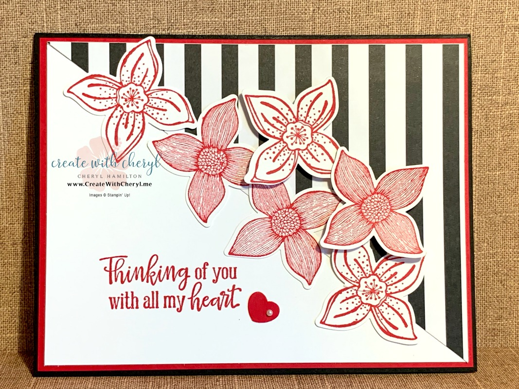 Pop of Petals #createwithcheryl #handmadecards
