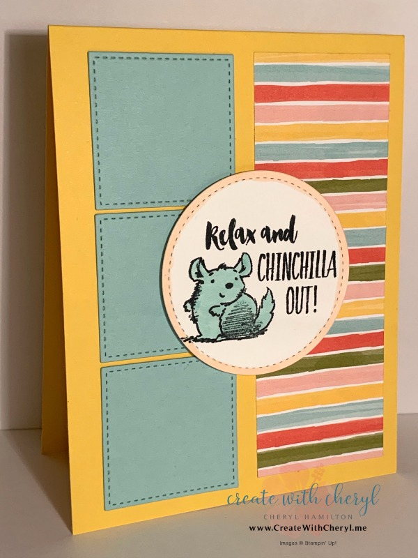 #CWCCL21 #createwithcheryl #handmadecards #wittycisms #chinchilla