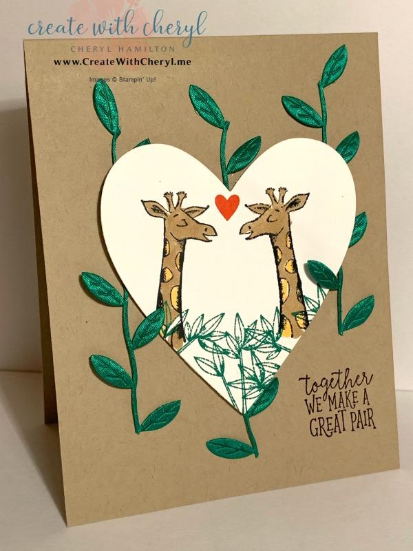 #cherylhamilton #createwithcheryl #stampinup #rubberstamping #diy #crafts #papercrafting #handmadecards #papercrafter #craftblogger #mirrorimagestamping #animalouting
