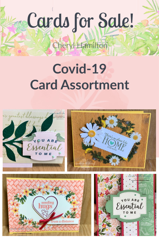 Cards for Sale!  Covid-19 Card Assortment