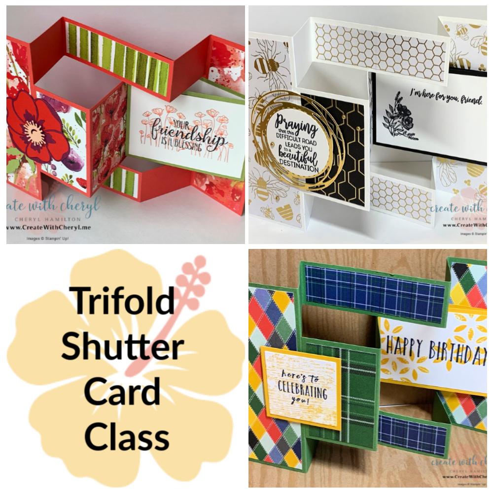Trifold Shutter Fun Fold Class