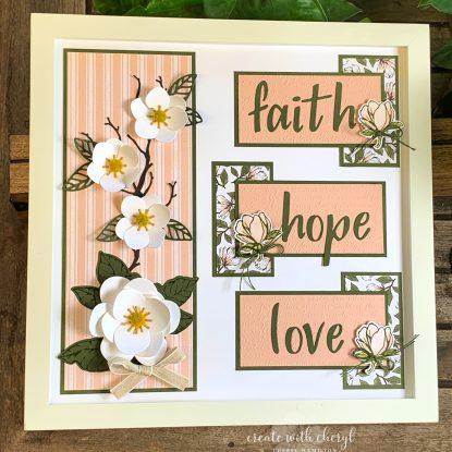 Faith Hope Love Sampler Cheryl Hamilton